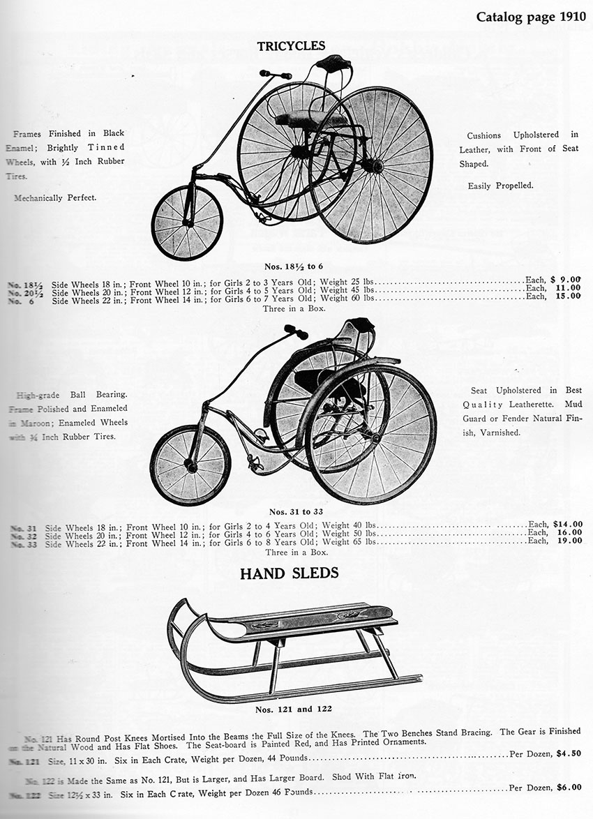 1910-TILLER-TRICYCLE