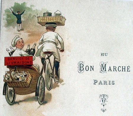 1913 au bon marche paris