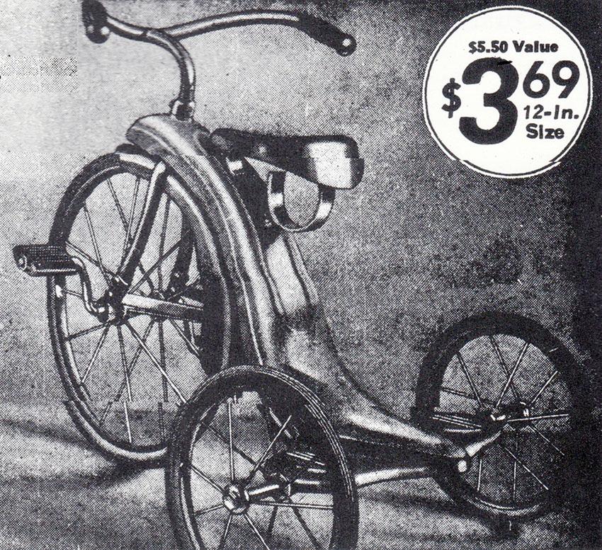 1937 Hedstrom Minuteman Tricycle 11
