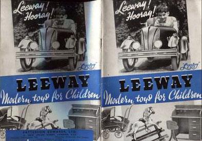 1939 LEEWAY TOYS