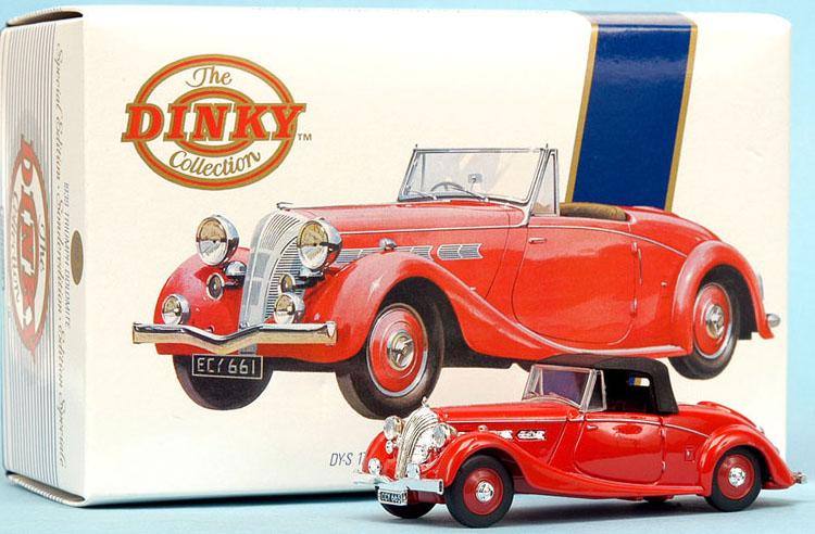 1939 Triumph Dolomite dinky toy 1990