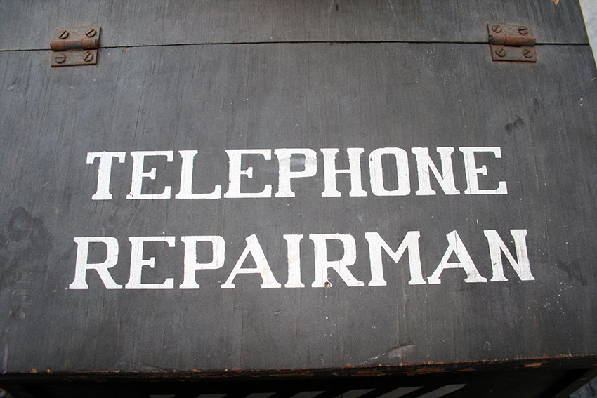 1950s GARTON Telephone Repairman Tricycle 10
