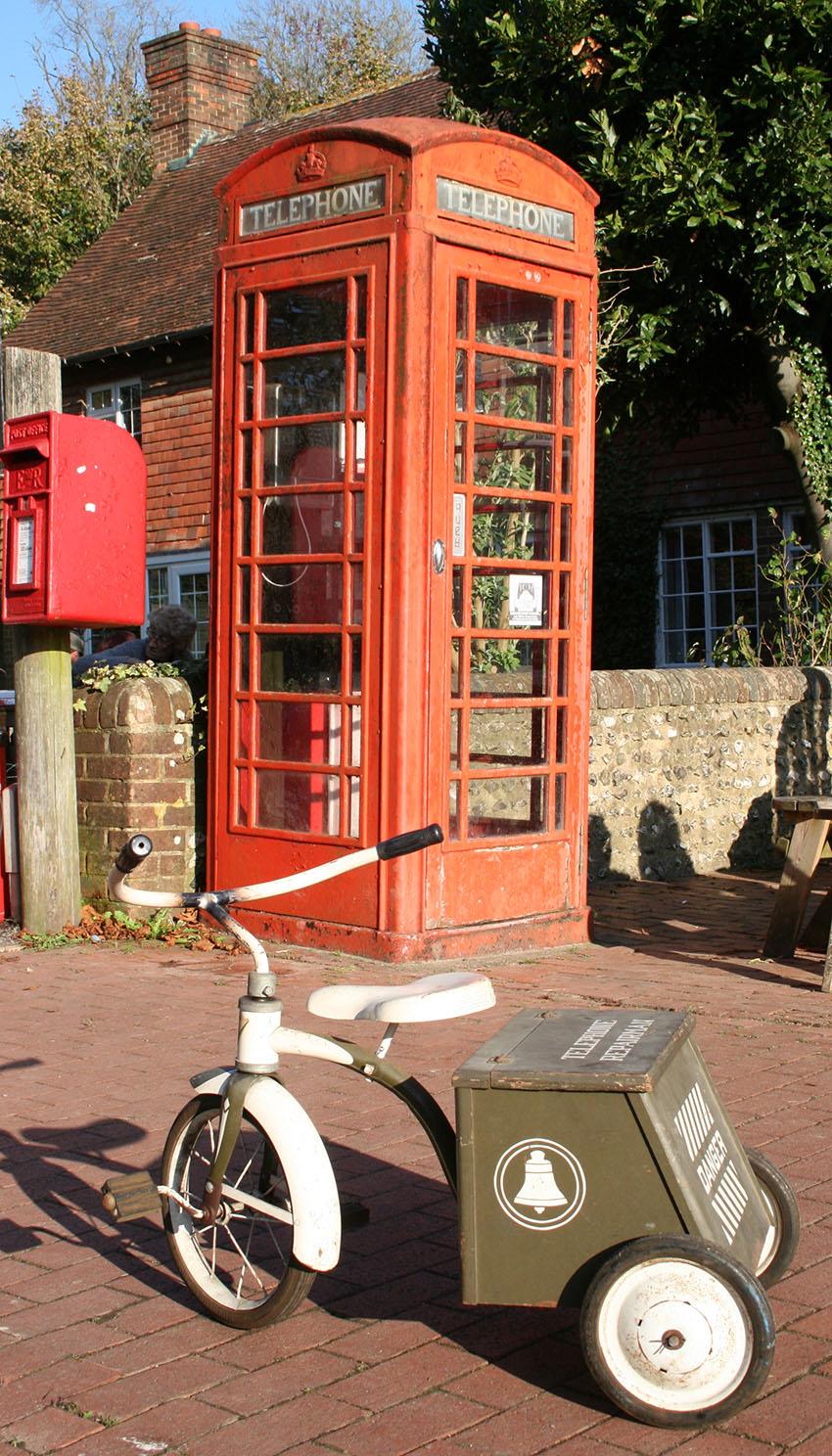 1950s GARTON Telephone Repairman Tricycle 88