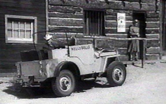 1954 Hamilton ROY ROGERS Jeep nellybelle 1