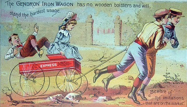 gendron coaster wagon