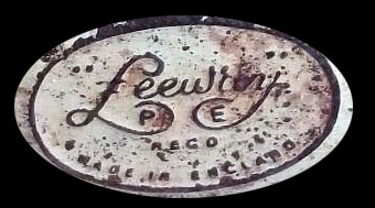 leeway p[edal car badge