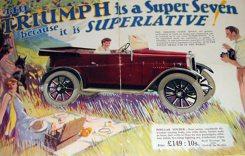 triumph super seven