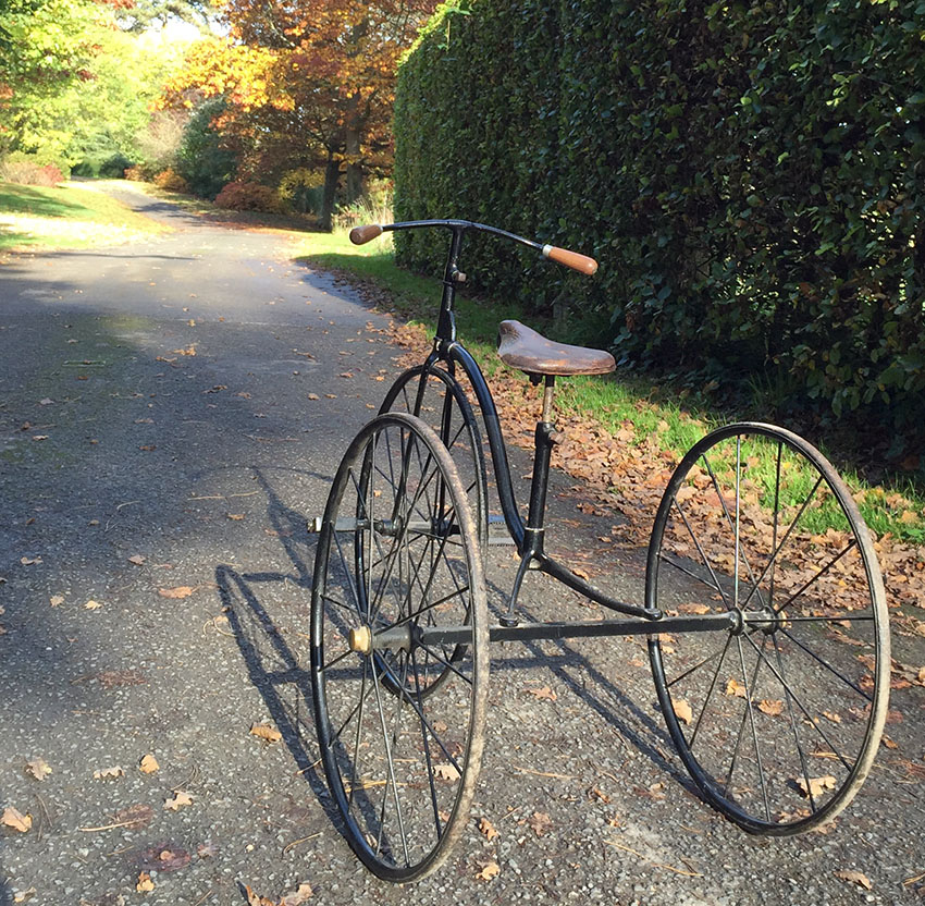 1900 Hughes Large Juvenile Tricycle 88