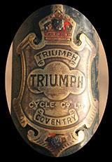 1928 Triumph BALL END FORK CROWN 04