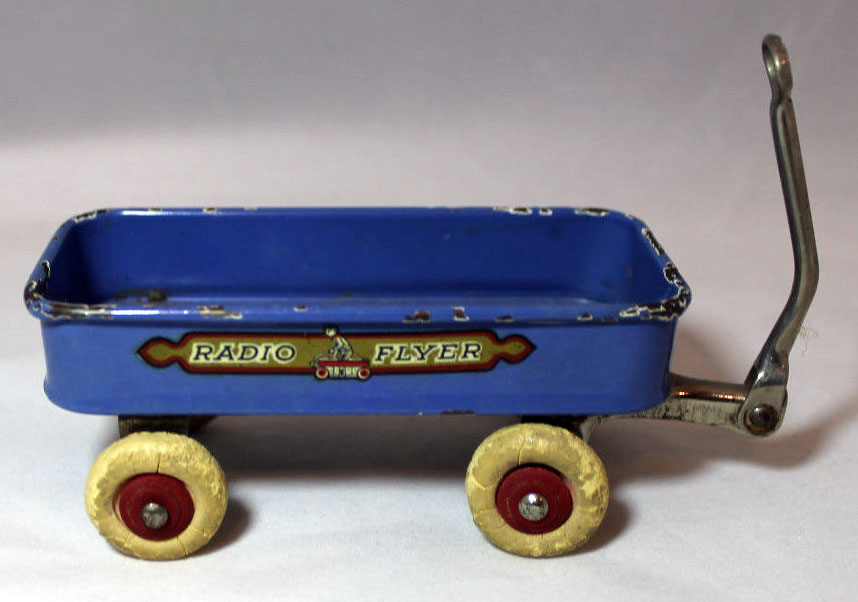 1933 Chicago World's Fair 'Radio Flyer' Souvenir Coaster Wagon 2
