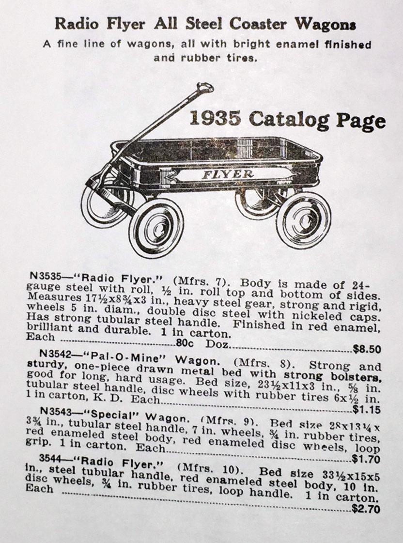 1935 radio flyer