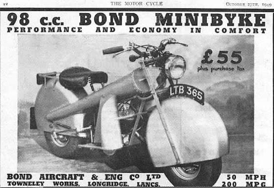 1949 Bond Minibike