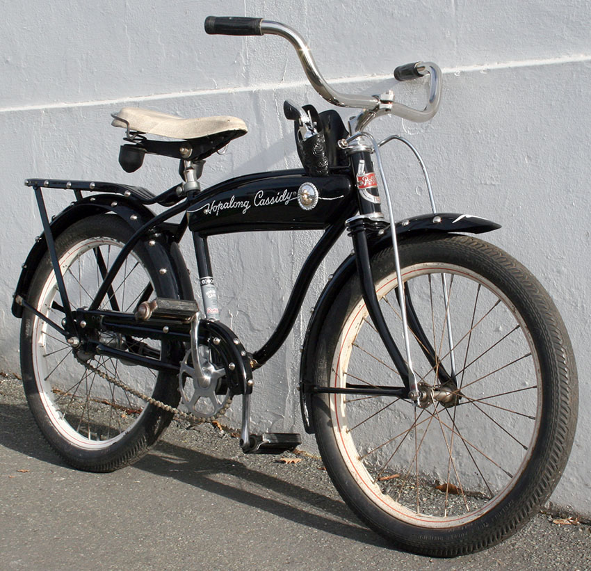 1953 Rollfast Hopalong Cassidy Boys Bicycle – The Online Bicycle Museum