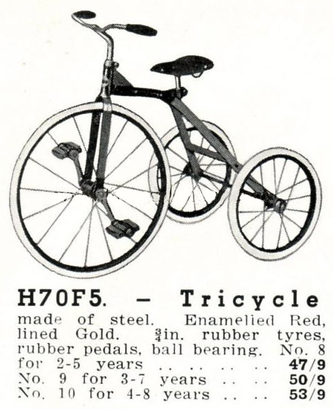 cyclops tricycle