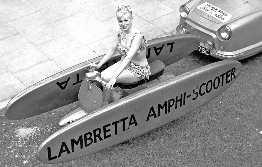 lambretta amphi scooter