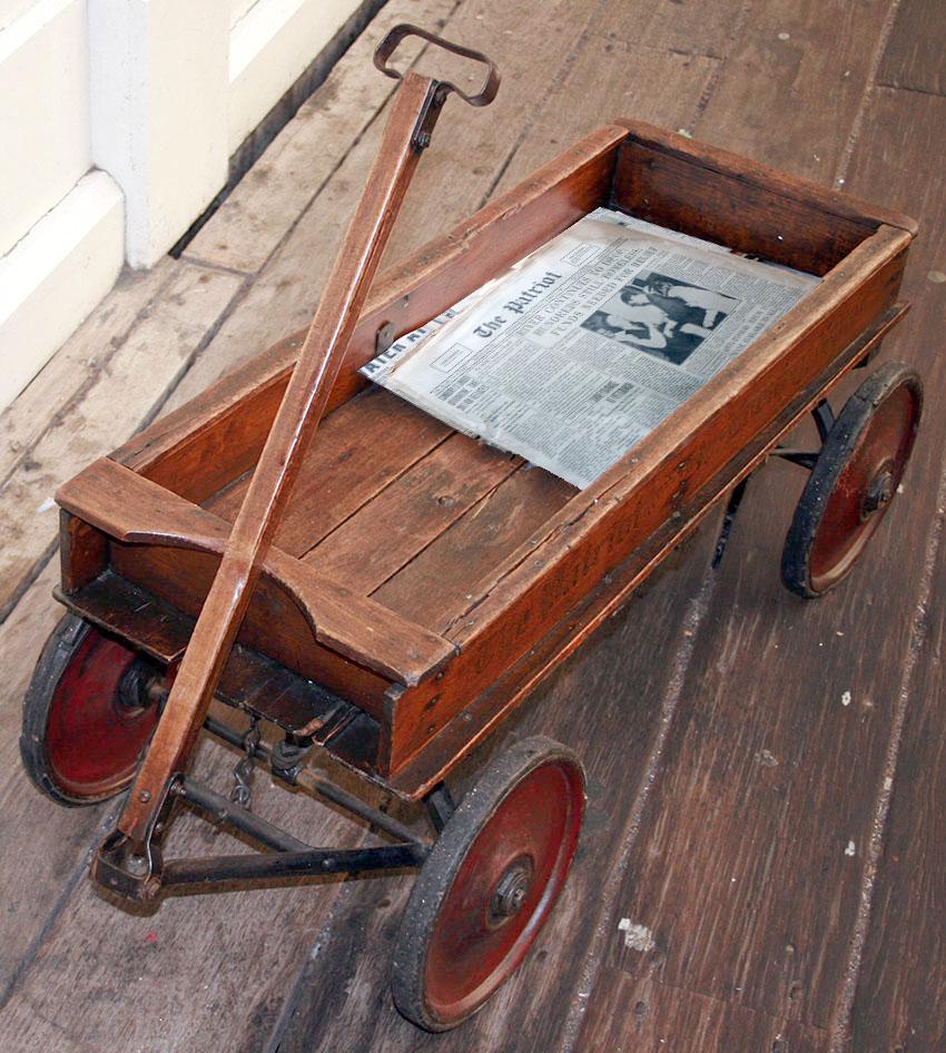 overland coaster wagon 25