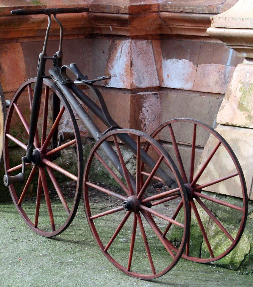 1875 VELOCIPEDE TRICYCLE 11