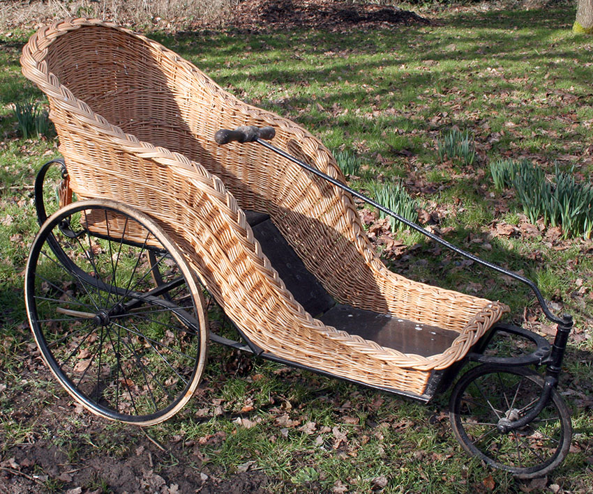 1900 Bath Chair William Howes of Norwich 7