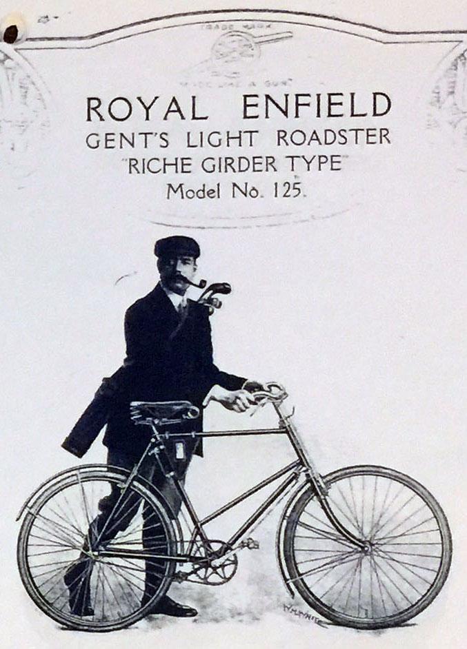 1906 Royal Enfield Girder WW1 8
