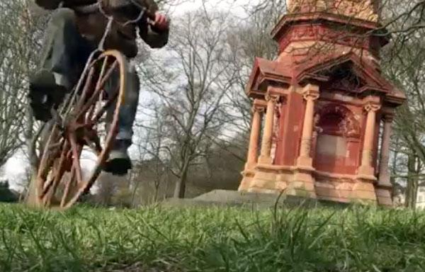 1869 velocipede