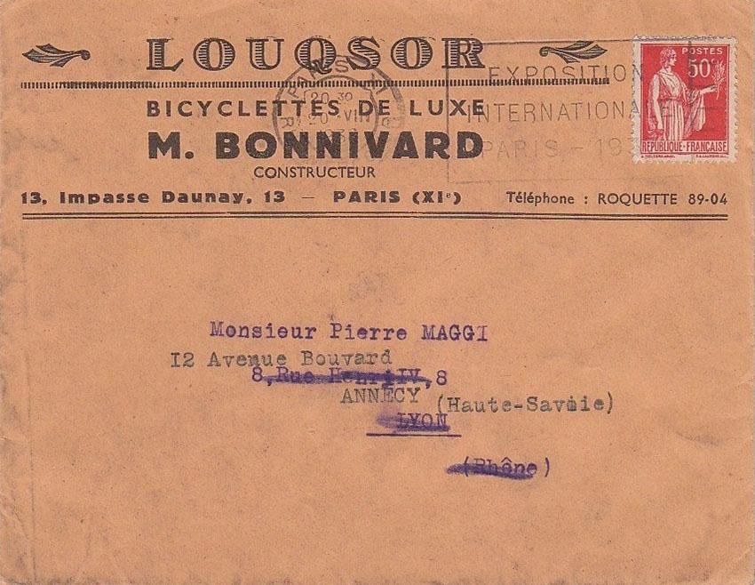 1935 Tandem LOUQSOR 14