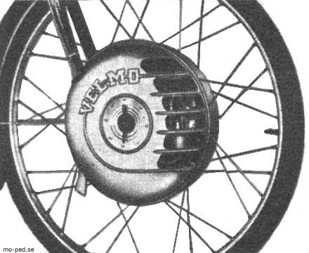 1952 Nordap Velmo Cyclemotor 0321
