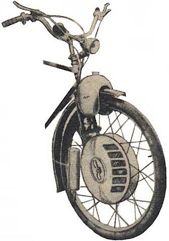 1952 Nordap Velmo Cyclemotor 0340
