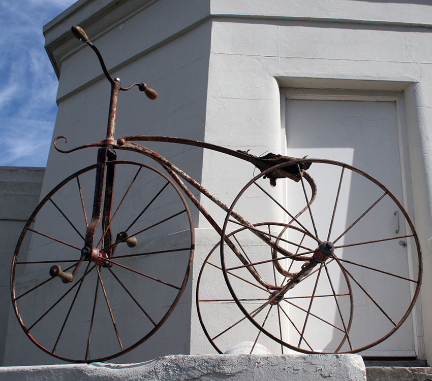 1870s Velocipede Tricycle metal 30