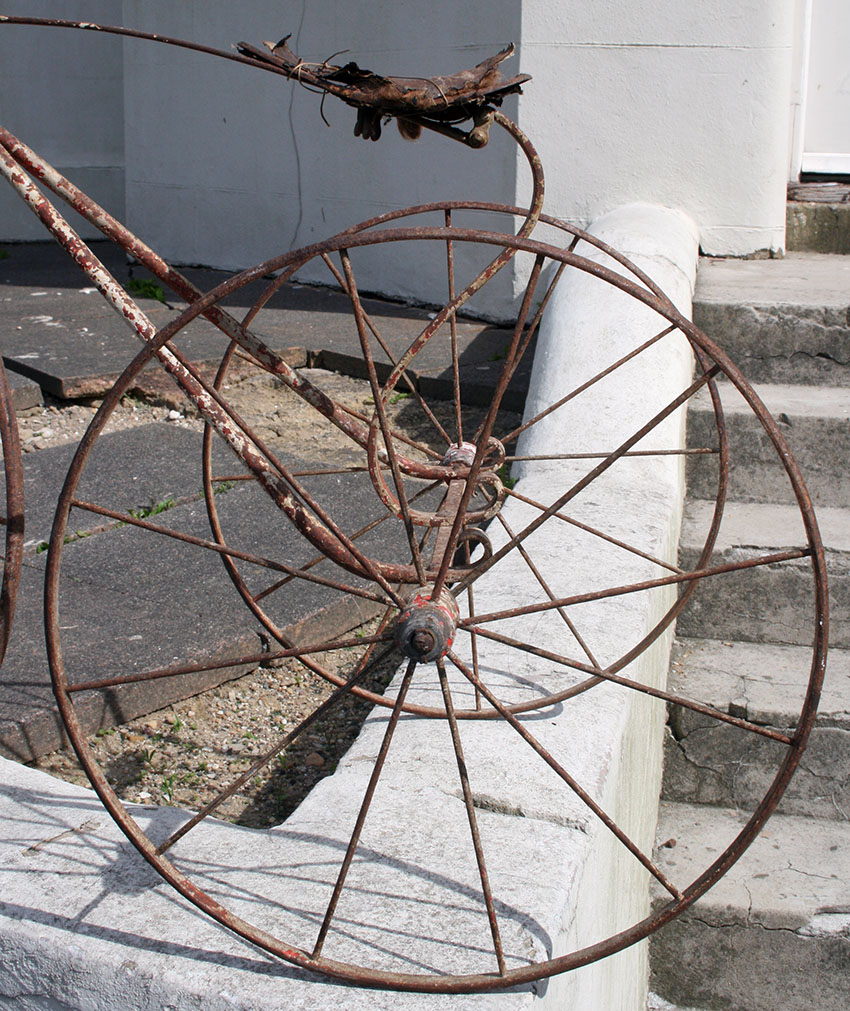 1870s Velocipede Tricycle metal 40