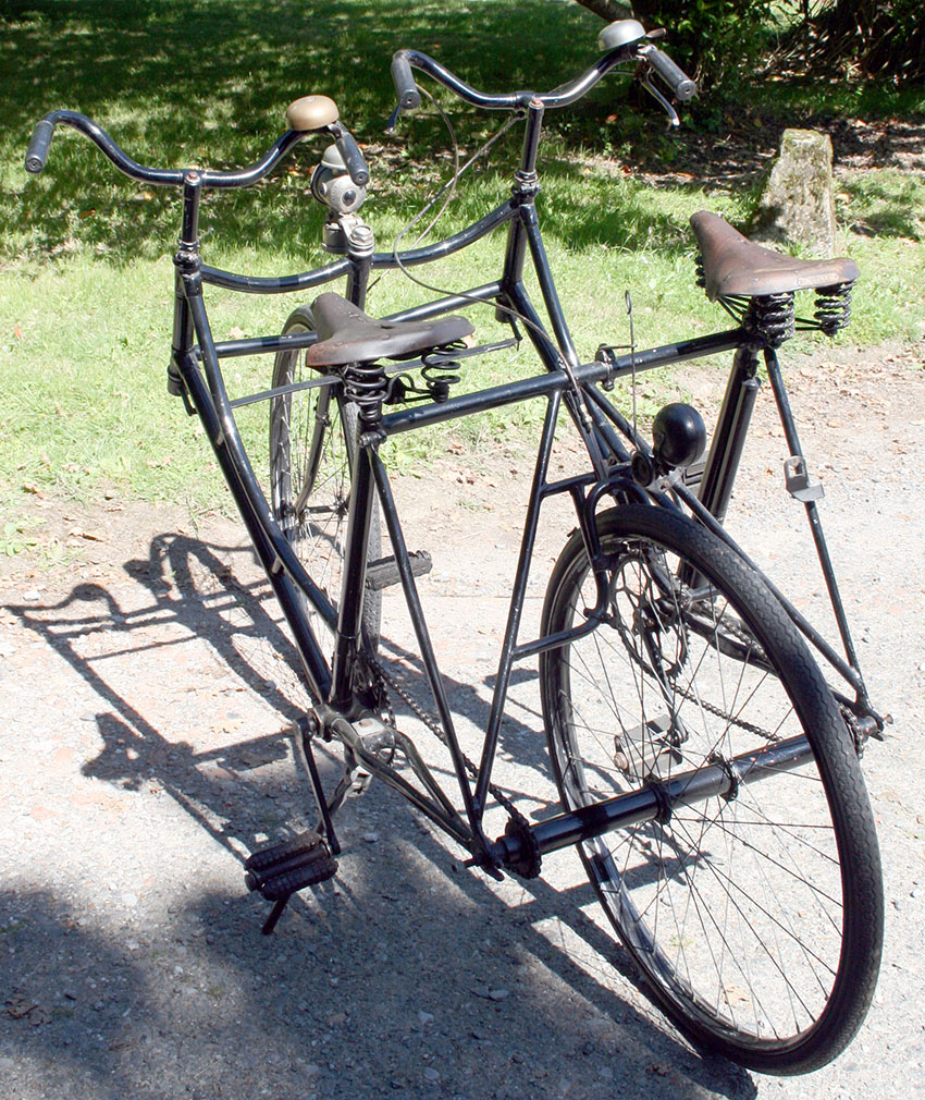 1910's Side-by-Side Sociable Tandem 99