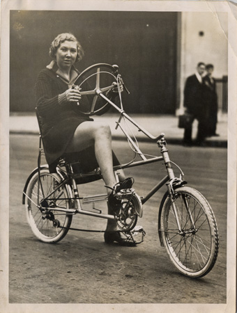 1936 'Cycles Velostable' Recumbent Bicycle 03