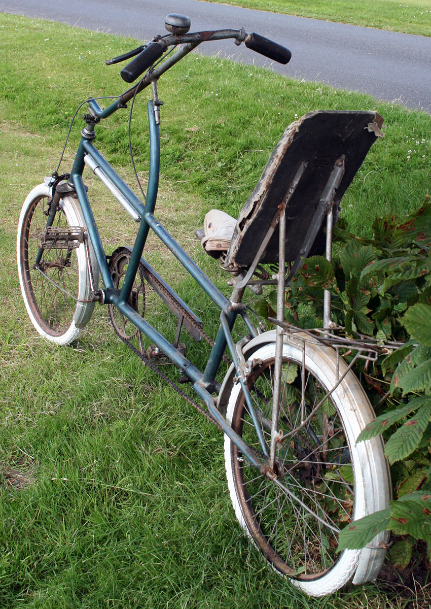 1936 'Cycles Velostable' Recumbent Bicycle 88