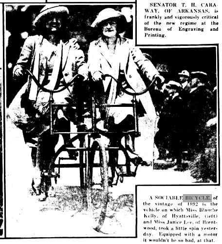 SOCIABLE TANDEM 1892
