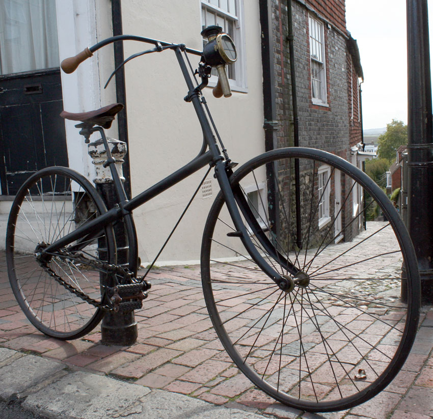 1889 Peugeot Cross Frame Safety | The Online Bicycle Museum