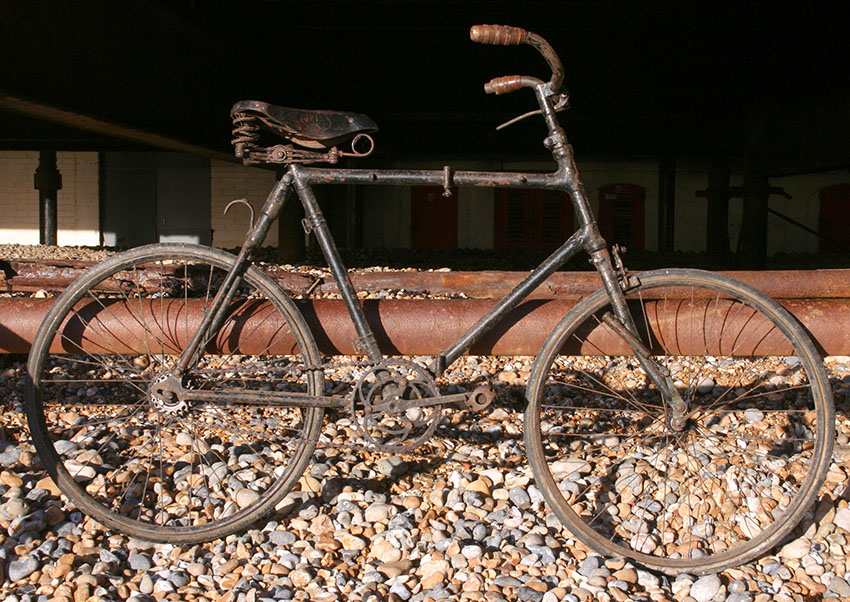WW1 1912 Bianchi Folding Bicycle 1
