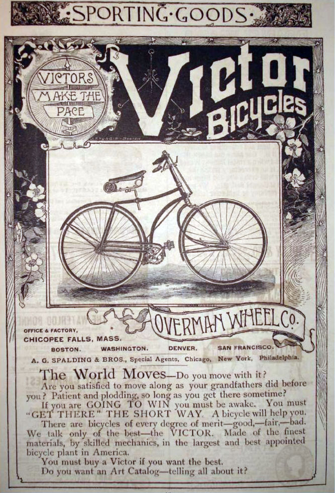 1893 Overman Victor Flyer The Online Bicycle Museum