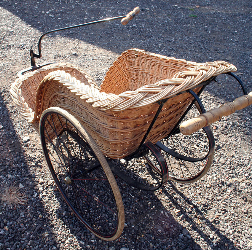 1900 Thomas Hughes Bath Chair 88