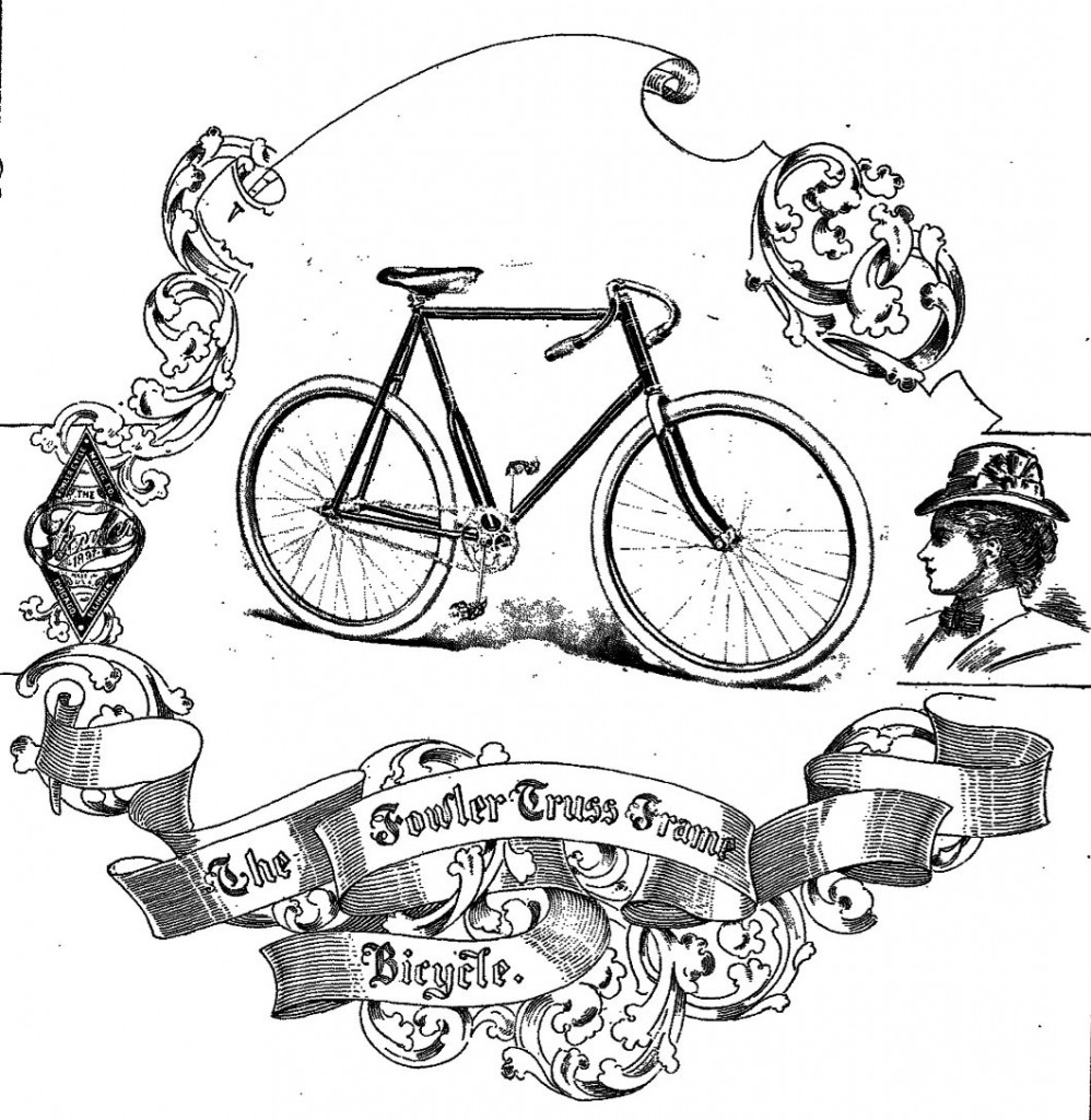 the online bicycle museum 1896 fowler truss frame catalogue 1955 Hudson Wasp