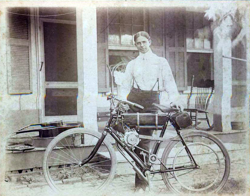 1902 motorised bicycle