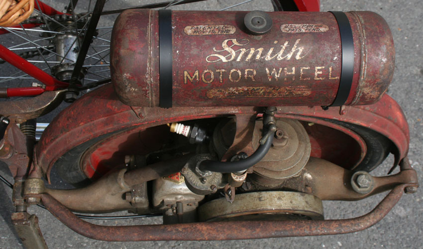 Cycle Attachment Engines 1915 1919 Smith Motorwheel The