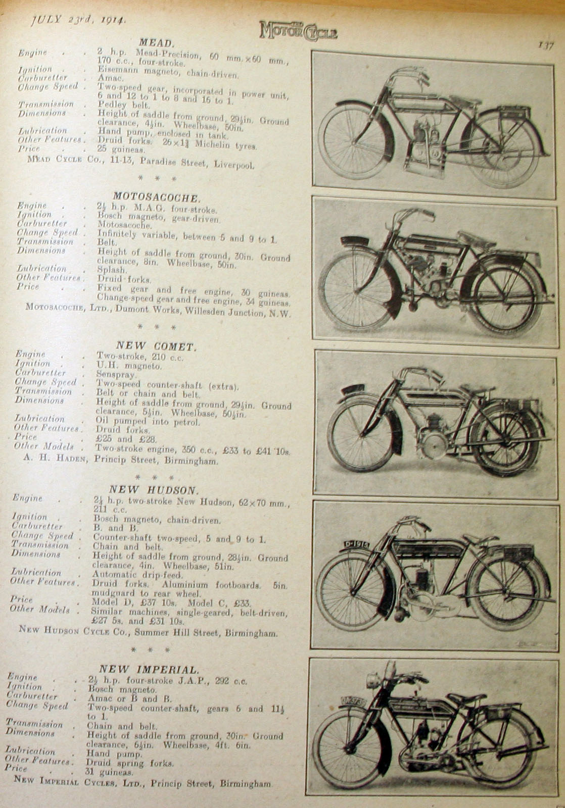 The online bicycle museum motosacoche5 previous image next image publicscrutiny Image collections