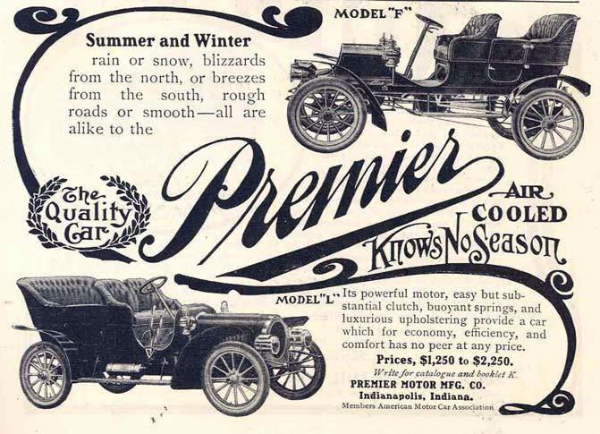 1905 premier model f car