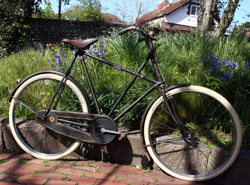1909 Raleigh Modele Superbe X Frame Model 20A   The Online Bicycle ...