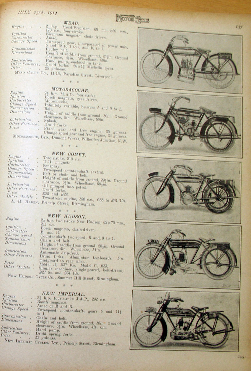The Online Bicycle Museum Cycle Attachment Engines 3 From Rambler Wiring Diagram Apm 2 8 Harley Sportster Tail Looking