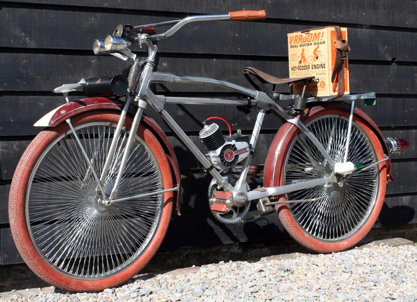 1946 Monark Silver King Hextube Motorised Custom The