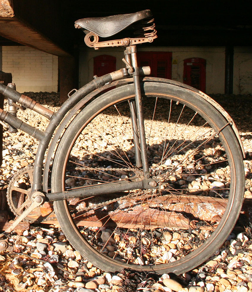 1912 peugeot captain gerard folding bicycle | the online bicycle