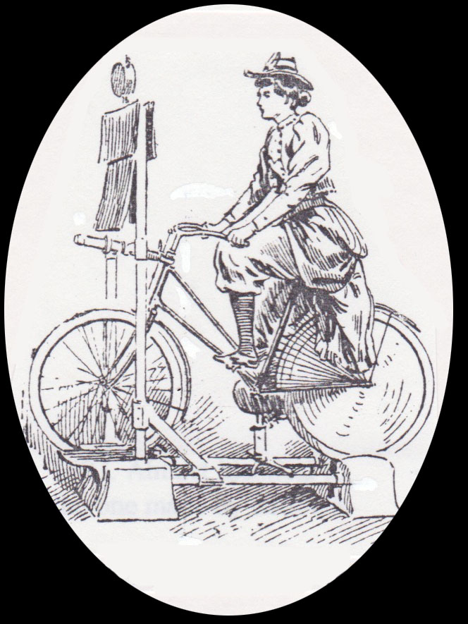 the online bicycle museum 1900s hunt son home trainer 1954 Hudson Wasp home