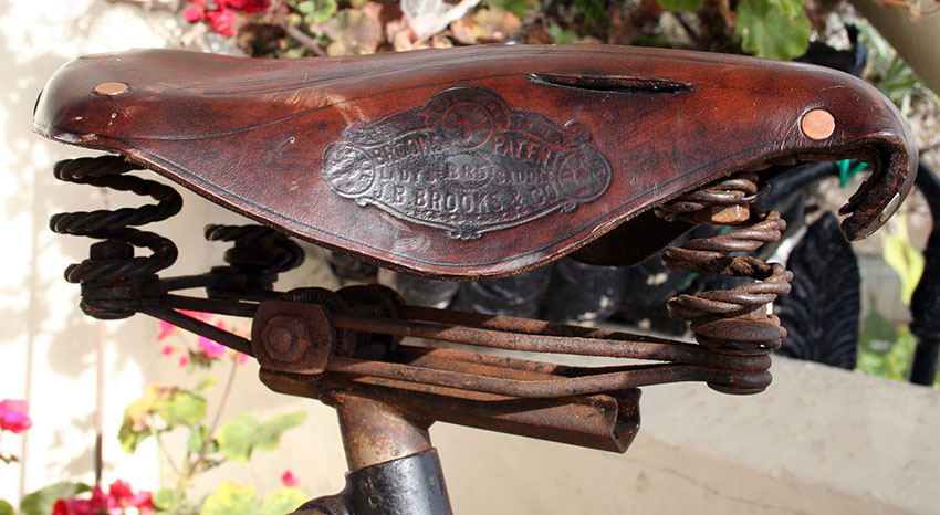 1900 Golden Sunbeam saddle