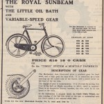 1905 royal sunbeam advert