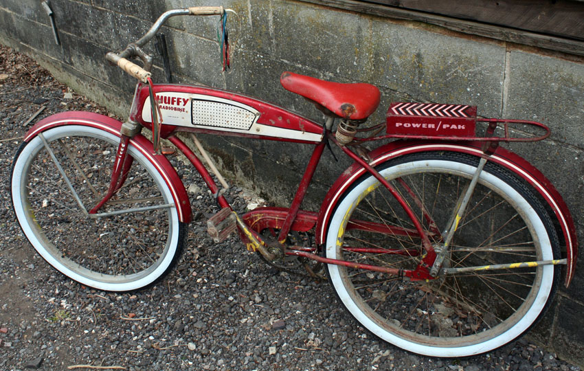 1955 Huffy Radiobike 12 The Online Bicycle Museum